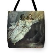Currier And Ives: Ghost Tote Bag