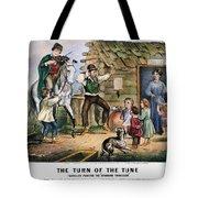 Currier  Ives Folk Tradition Tote Bag by Granger