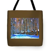 Curry Cabins Christmas Day Tote Bag
