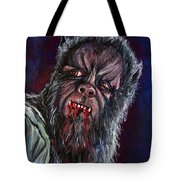Curse Of The Werewolf Tote Bag