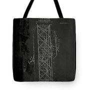 Flying Machine Patent Drawing 1e Tote Bag