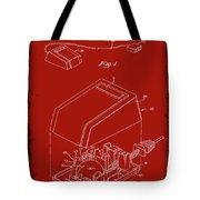 Cursor Control Device Patent Drawing 1n Tote Bag