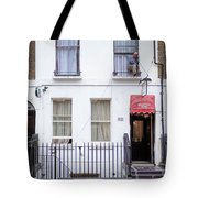 Curtain Twitcher Tote Bag