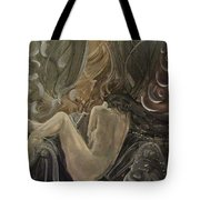 Curtains At Dusk Tote Bag