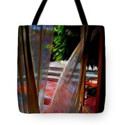 Curtains Blow Away And Back Again Tote Bag