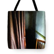 Curtains Closed Tote Bag