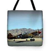 Curtis P40 Warhawk Tote Bag