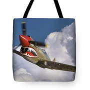 Curtiss P-40n Warhawk Tote Bag