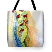 Curve Appeal Tote Bag