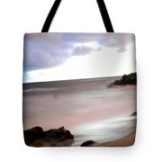 Curve Of The Horizon Tote Bag