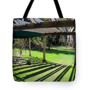 Curved Arbor  Tote Bag