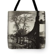 Curved Gate Tote Bag