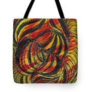 Curved Lines 2 Tote Bag