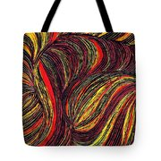 Curved Lines 3 Tote Bag