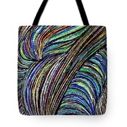 Curved Lines 7 Tote Bag