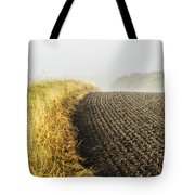 Curves And Fog Tote Bag