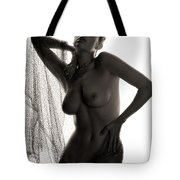 Study In Contrast #2 Tote Bag