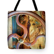 Curves And Lines Tote Bag