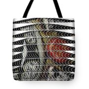Curves And Triangles Tote Bag