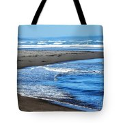 Curves And Waves Tote Bag
