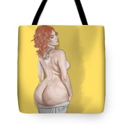 Curves Of Helga Tote Bag by TortureLord Art