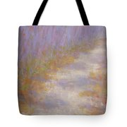Curving Road, Late Autumn Tote Bag