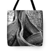 Curvy Old Lady Tote Bag