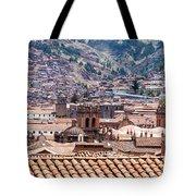 Cusco Cityscape Tote Bag