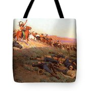 Custer's Last Stand Tote Bag