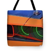 Custom 2009 Dodge Challenger Tote Bag