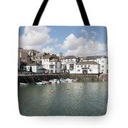 Custom House Quay And Falmouth Parish Church Tote Bag