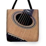 Custom Made Guitar Tote Bag