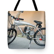 Custom Made Motor Bike Tote Bag