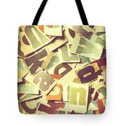 Cut Copy Tote Bag