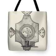 Cut Tin Candle Holder Tote Bag