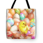 Cute Easter Chick Tote Bag