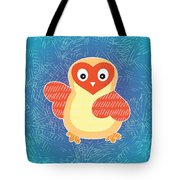 Cute Little Baby Chick Tote Bag