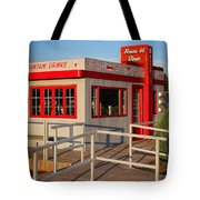Cute Little Route 66 Diner Tote Bag