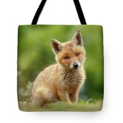 Cute Overload Series - Best Baby Fox Ever Tote Bag