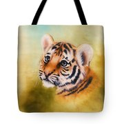 Cute Tiger Cub Sports Bag