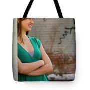 Cute Strawberry Blonde Girl Tote Bag