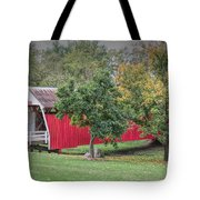 Cutler-donahoe Covered Bridge Tote Bag
