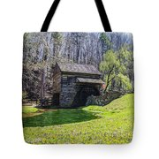 Cuttalossa Mill In The Springtime Tote Bag