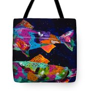 Cutthroats Tote Bag by Tracy Miller