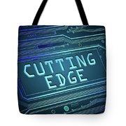 Cutting Edge Concept. Tote Bag