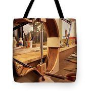 Cutting The Kerfing Tote Bag
