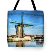 Cutting Through The Wind Tote Bag