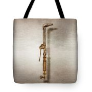 Cutting Torch Right Face Tote Bag