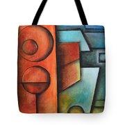 Cyan Sharpness Tote Bag