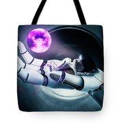 Cyber Dreams Tote Bag